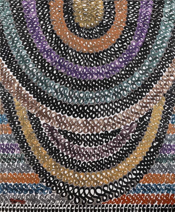 نقاشی حسین زندهرودی با قیمت ۳ میلیارد و ۲۰۰ میلیون تومان